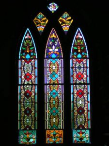 Lincoln Chapel Stained Glass Windows