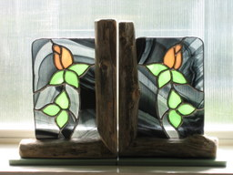 Rose Bookends