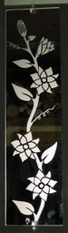 Vine Etched Mirror