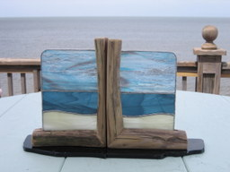 Beach Bookends